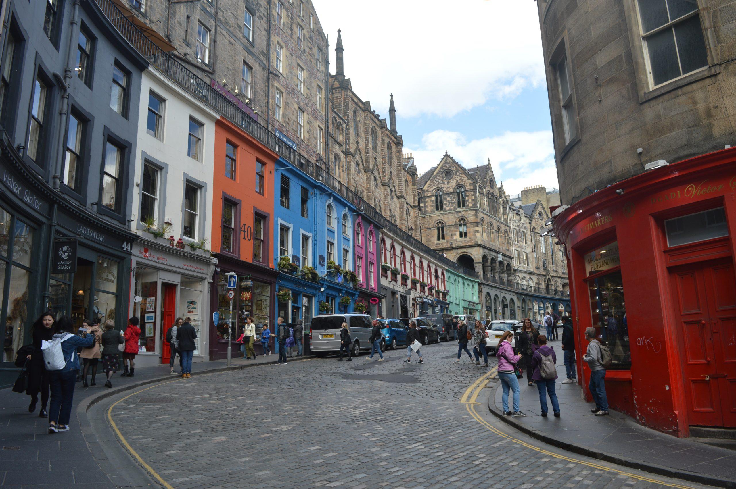 Skotsko: Edinburgh