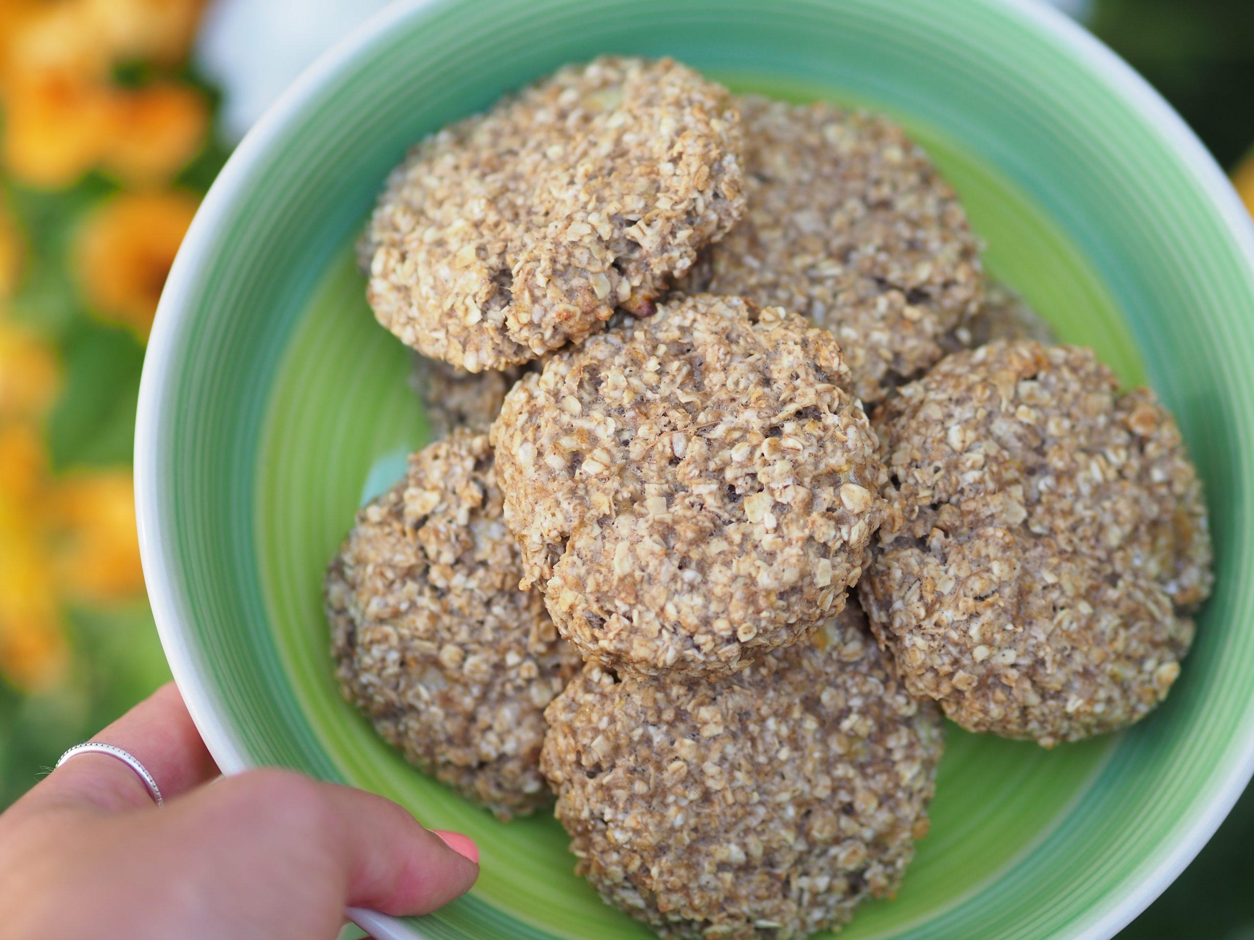 sušenky ze tří ingrediencí