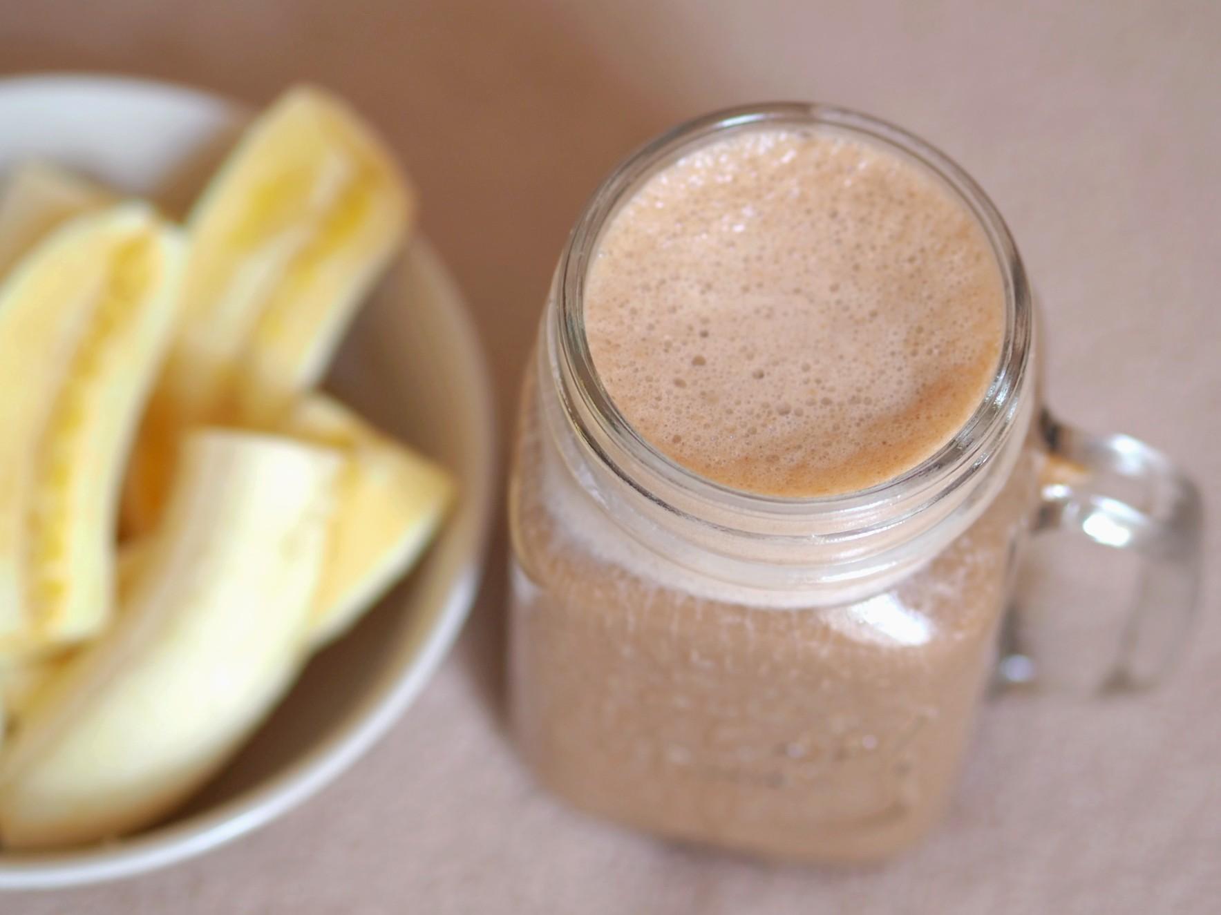 Kávovo-karamelové smoothie